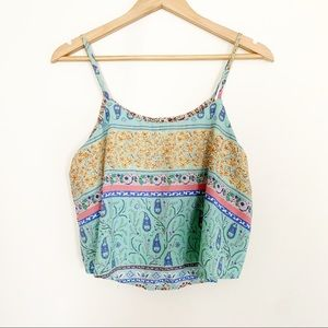Tops - TOBI | tribal print swing tank
